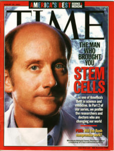 James Thomson TIME magazine cover August 2001