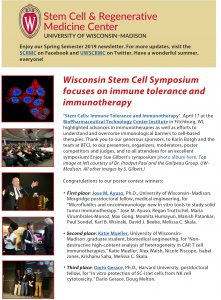 SCRMC – UW – Madison Stem Cell and Regenerative Medicine